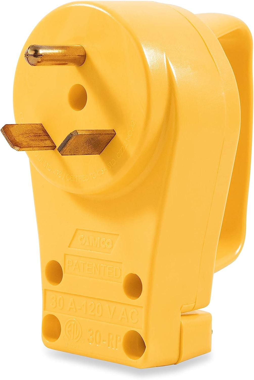 Camco 20 RV 20 AMP PowerGrip Replacement Plug