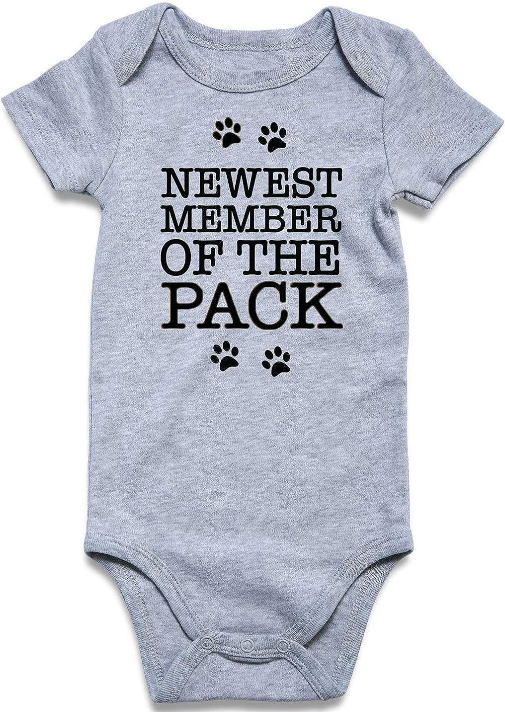 UNICOMIDEA Baby Boys Girls Romper Max Bargain sale 83% OFF Jumpsuit Short Printed Letter