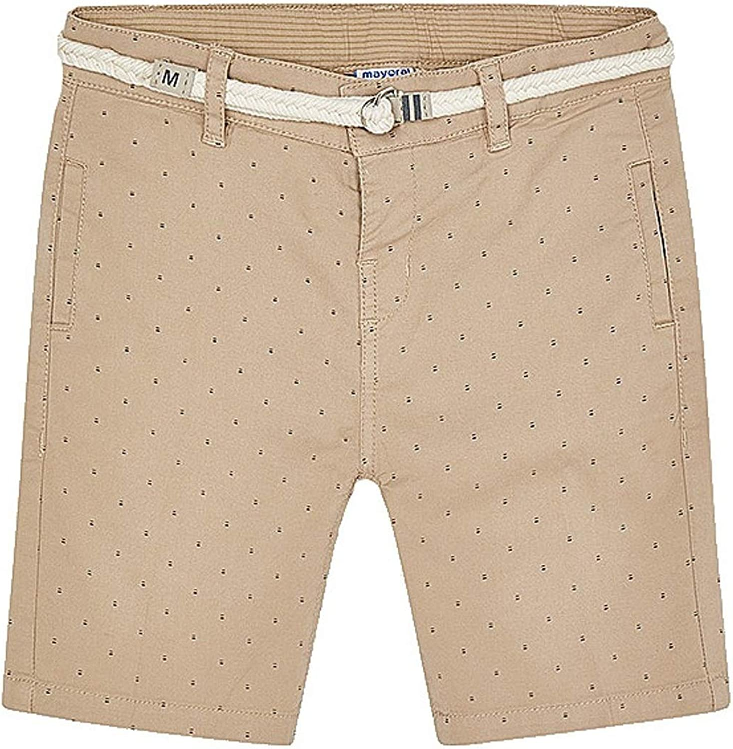 Mayoral - 2021new shipping free Topics on TV Printed Shorts with for 3243 Sesame Belt Boys