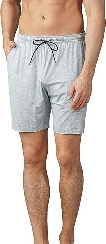 Mey Hommes 65650-620 Hommes's Jefferson lumière gris Melange Pyjama courte grand