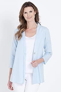 W.Lane Drape Linen Jacket - Womens