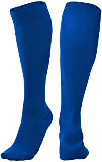 CHAMPRO Pro Socks, Single Pair, Adult Medium, Royal