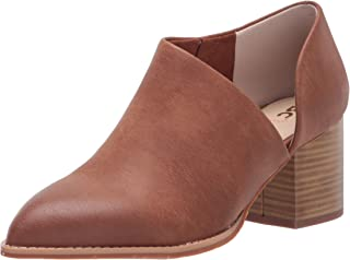 BC Footwear Women's Make A Difference Ankle Boot, Cognac, 7 B US