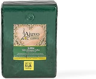 Ajuvo World Market Ethiopian Limu Coffee - Roasted, Whole Bean (5 lb)