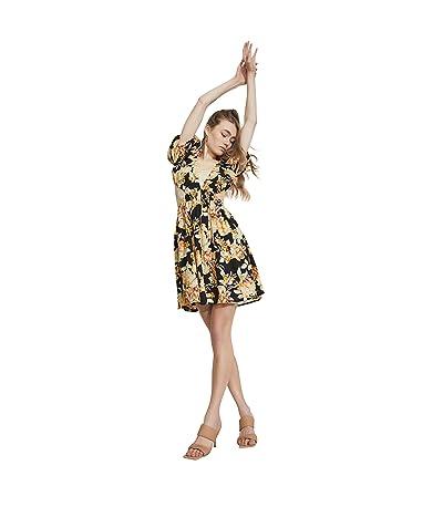 Bardot Floral Mini Dress