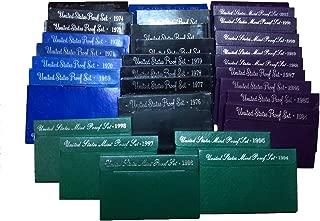 1968 - 1998 31 U.S. Mint Proof Sets Complete Run