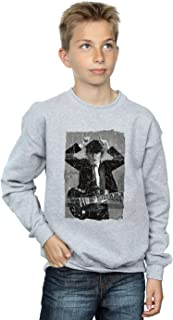 AC/DC Jungen Angus Young Distressed Photo Sweatshirt