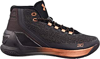 Under Armour Men's Curry 3 Basketball Shoe Black/White