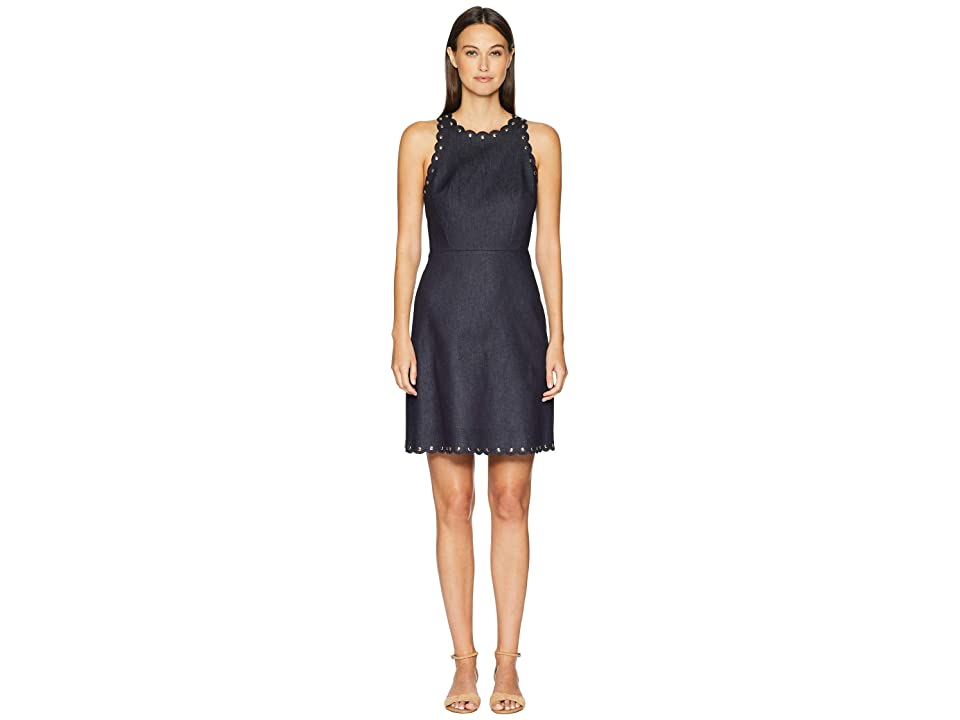 Kate Spade New York Denim A-Line Dress (Indigo) Women