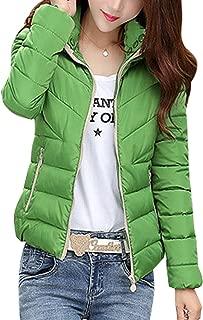 Women's Down Cotton Coat Winter Warm Packable Puffer Jacket