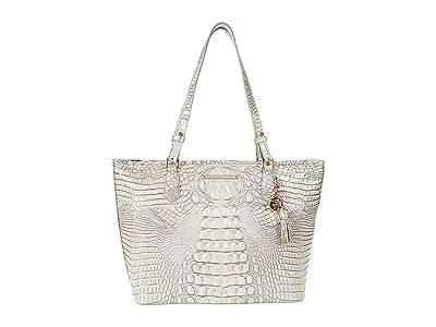 Brahmin Melbourne Medium Asher Bag (Moonrise 1) Tote Handbags