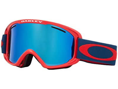 Oakley O Frame 2.0 XM (Red Poseidon w/ Black Ice Iridium/Persimmon) Goggles