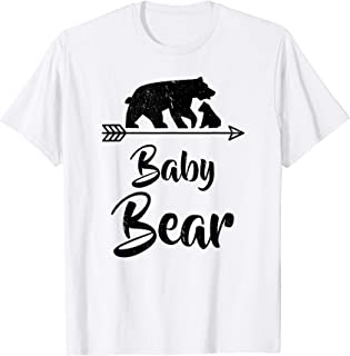 Baby Bear T-Shirt Best Gift Mother's / Father's Day