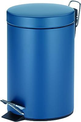 Kela(ケラ) ペダル式ゴミ箱 インディゴ サイズ:∅17×H26cm ペダルビン3L インディゴ 20527