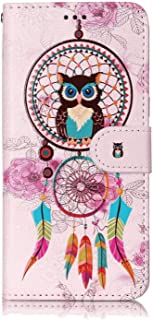 Positive Cover Compatible with Samsung Galaxy S10 5G, owl PU Leather Wallet Flip Case for Samsung Galaxy S10 5G
