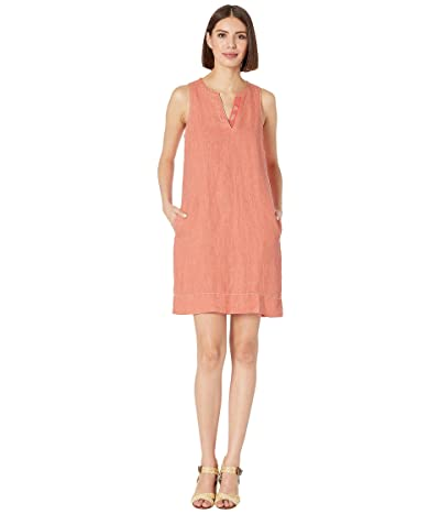 Tommy Bahama Seaglass Linen Shift Dress (Dubarry Coral) Women