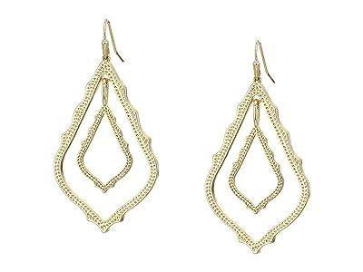 Kendra Scott Simon Earrings (Gold Metal) Earring
