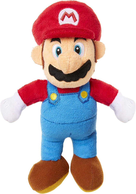 SUPER MARIO Mario Plush Stuffed Scale Toy Figure Same day shipping Purple 6