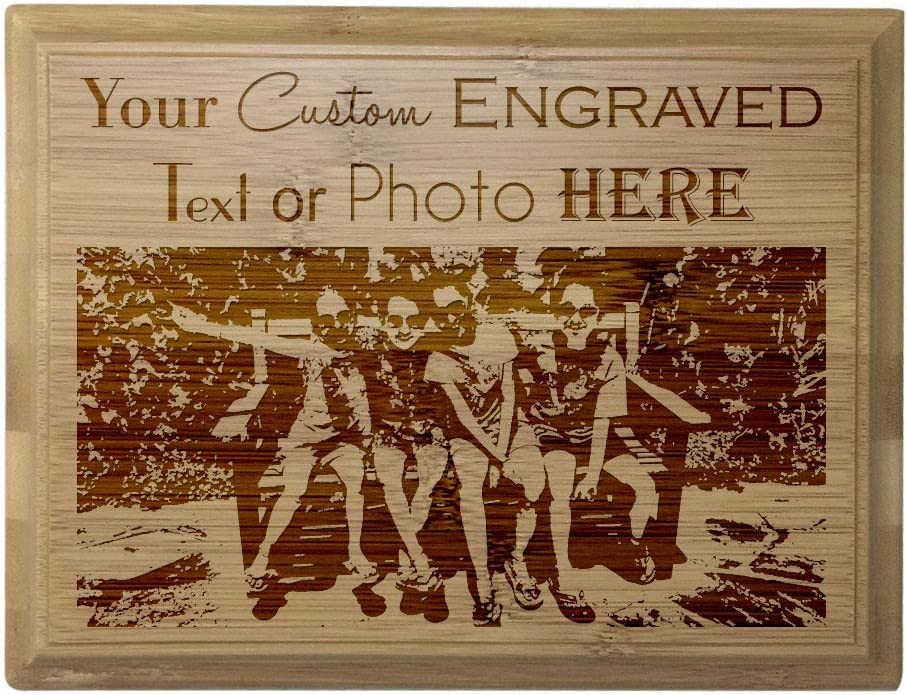 67% OFF of fixed price Custom Personalized 3D Laser Engraved Finish Plaque Red Alder Super beauty product restock quality top wi