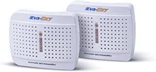 Eva-dry E-333 Renewable Mini Dehumidifier 2-PACK