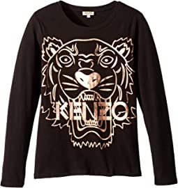 Copper Tiger T-Shirt (Big Kids)