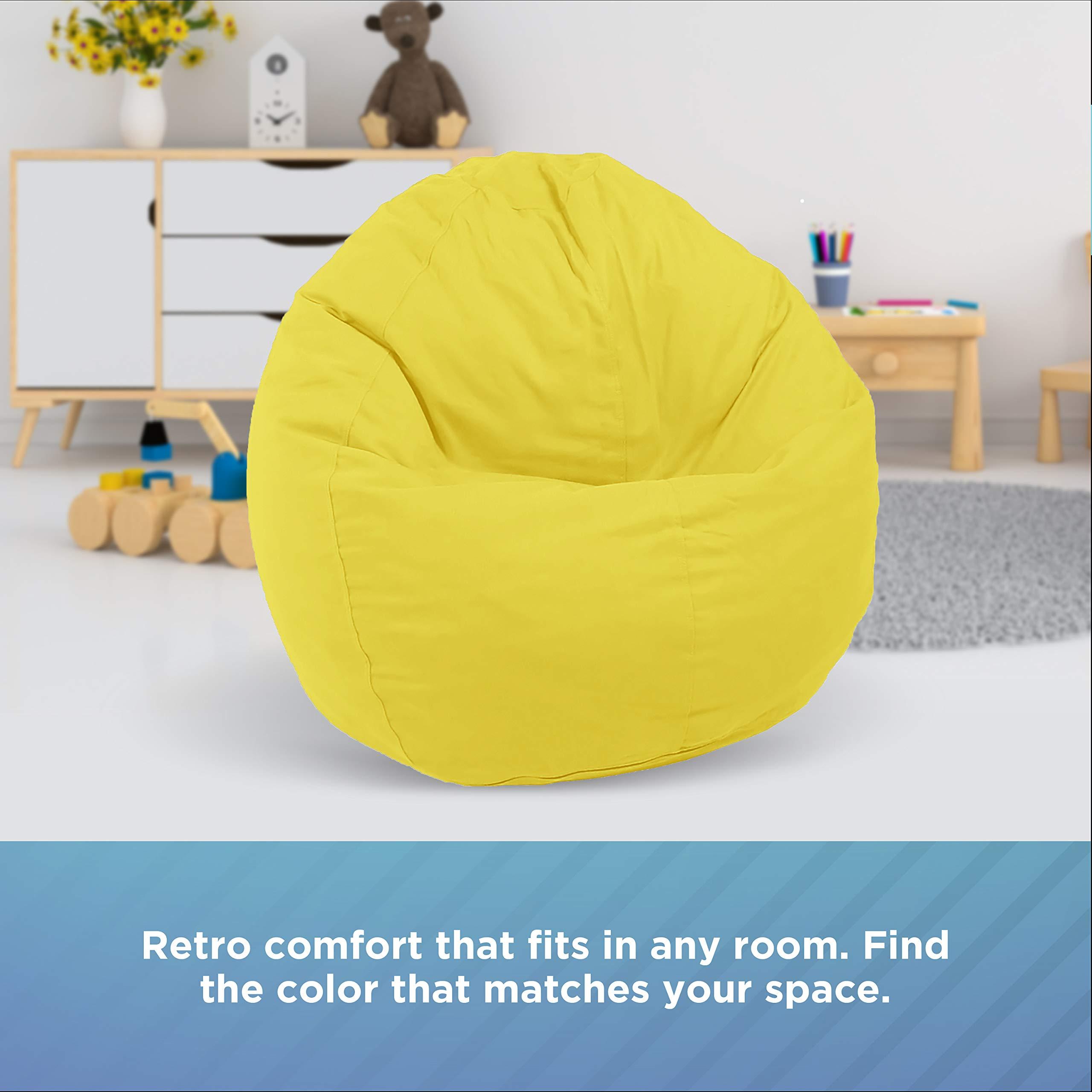 Bean bag chair with a filler velvet Kolibri cotton