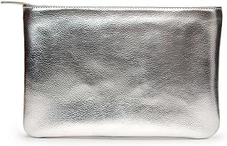 DailyObjects Silver Metallic Regular Stash Pouch/Handbag