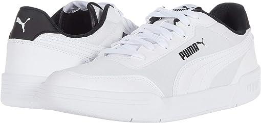 Puma White/Puma White/Puma Black