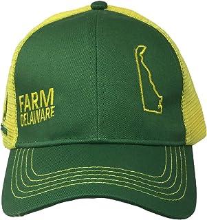 قبعة فخر ولاية المزرعة جون ديري, أصفر وأخضر, قياس واحد