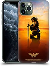 Official Wonder Woman Movie Sword and Shield Posters Hard Back Case Compatible for iPhone 11 Pro