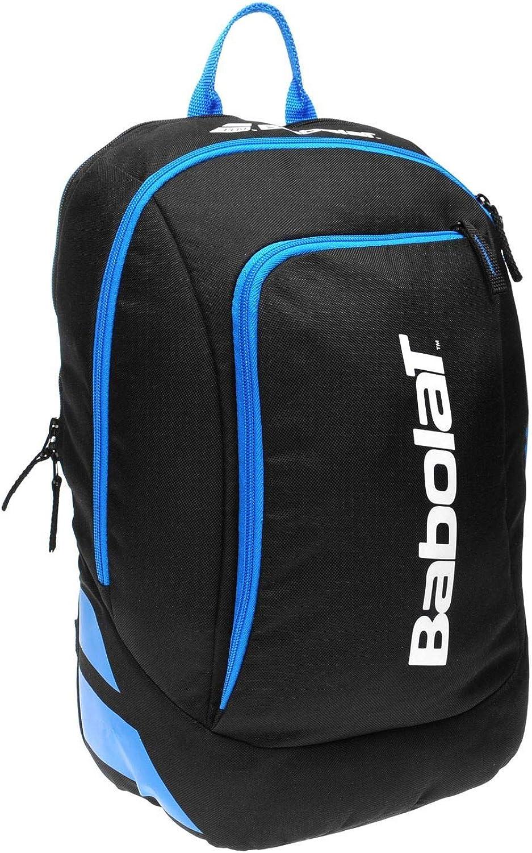 Babolat Tennis Racket Bags Raquet Bag Backpack Holdall Carryall H 42 x W 36 x D 25 (cm) Club Backpack  Black blueee