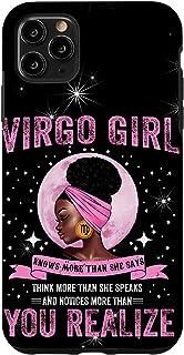 iPhone 11 Pro Max Virgo Birth Day Gift - Horoscope Birthday Women Virgo Case