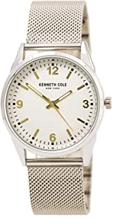 Kenneth Cole New York Men's Mixed Materials Round Watch