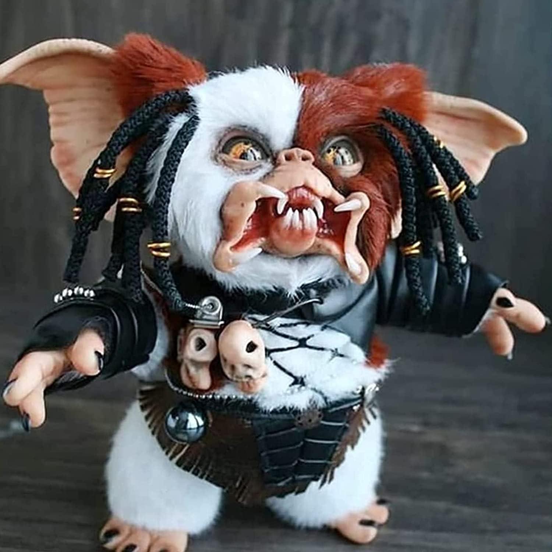koeyleo Nueva muñeca Hecha a Mano de Mogwai, Linda muñeca de Peluche de Monstruo de Gremlins, Juguete de Peluche para decoración del hogar, coleccionables, Amantes de Las muñecas (D)