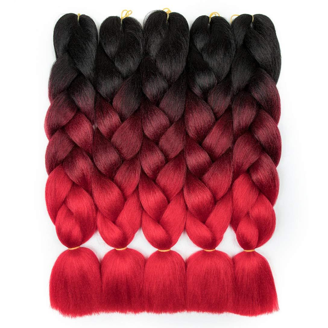 RN BEAUTY Ombre Tulsa Mall Braiding Hair Synthetic Jumbo Braids 40% OFF Cheap Sale Extens
