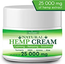 Organic Hemp Pain Relief Extract 25 000 Mg, Made in USA, Non-GMO, Natural Hemp Oil for Pain Relief