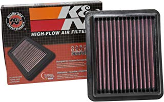 K&N engine air filter, washable and reusable: 2014-2015 Acura MDX V6 3.5L 33-5013