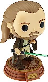 ¡Funko Pop! Star Wars: Adventures Across The Galaxy - Qui-Gon Jinn (Tatooine), figura colecciona de vinilo exclusiva de Amazon