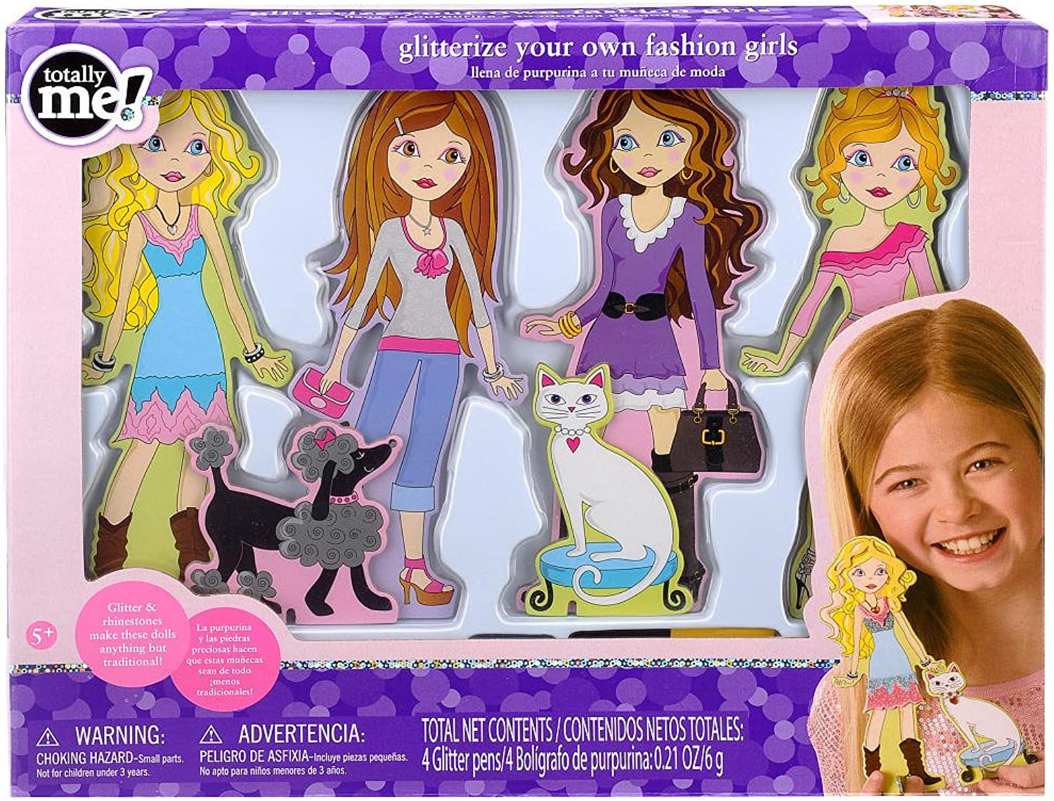 perfecto Totally Totally Totally Me  Glitterize Your Own Fashion Girls  tiempo libre
