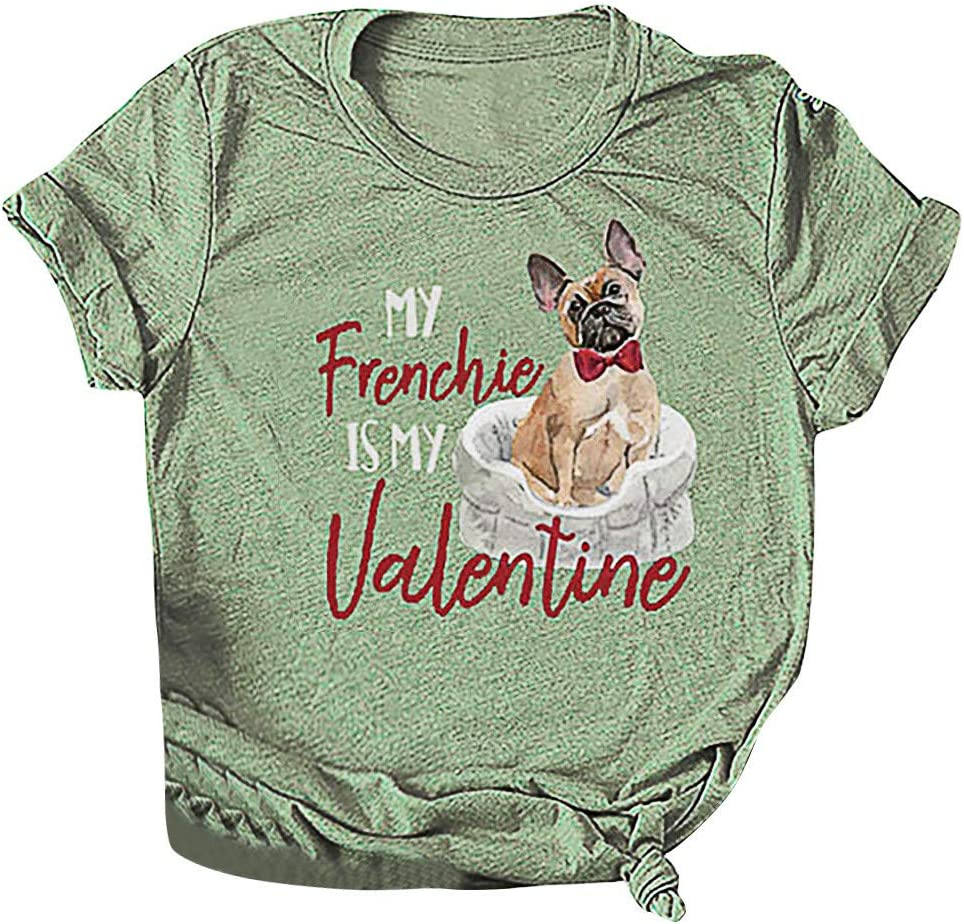 YOMXL Fashion Valentine's Day Max 61% OFF MY Letter Frenchie Valentine IS Oklahoma City Mall