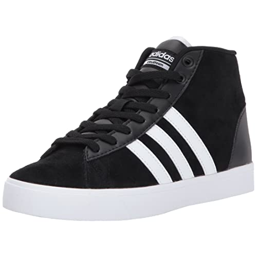 finest selection 5ab1c a3a5f adidas Women s CF Daily QT Mid W Sneaker, Black White Super Pink,