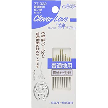 Clover 手縫針 絆 CL 普通地用ぬい針セット 77-022