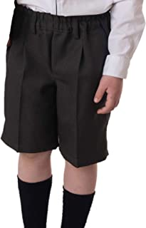 Pantalón colegial Corto Gris