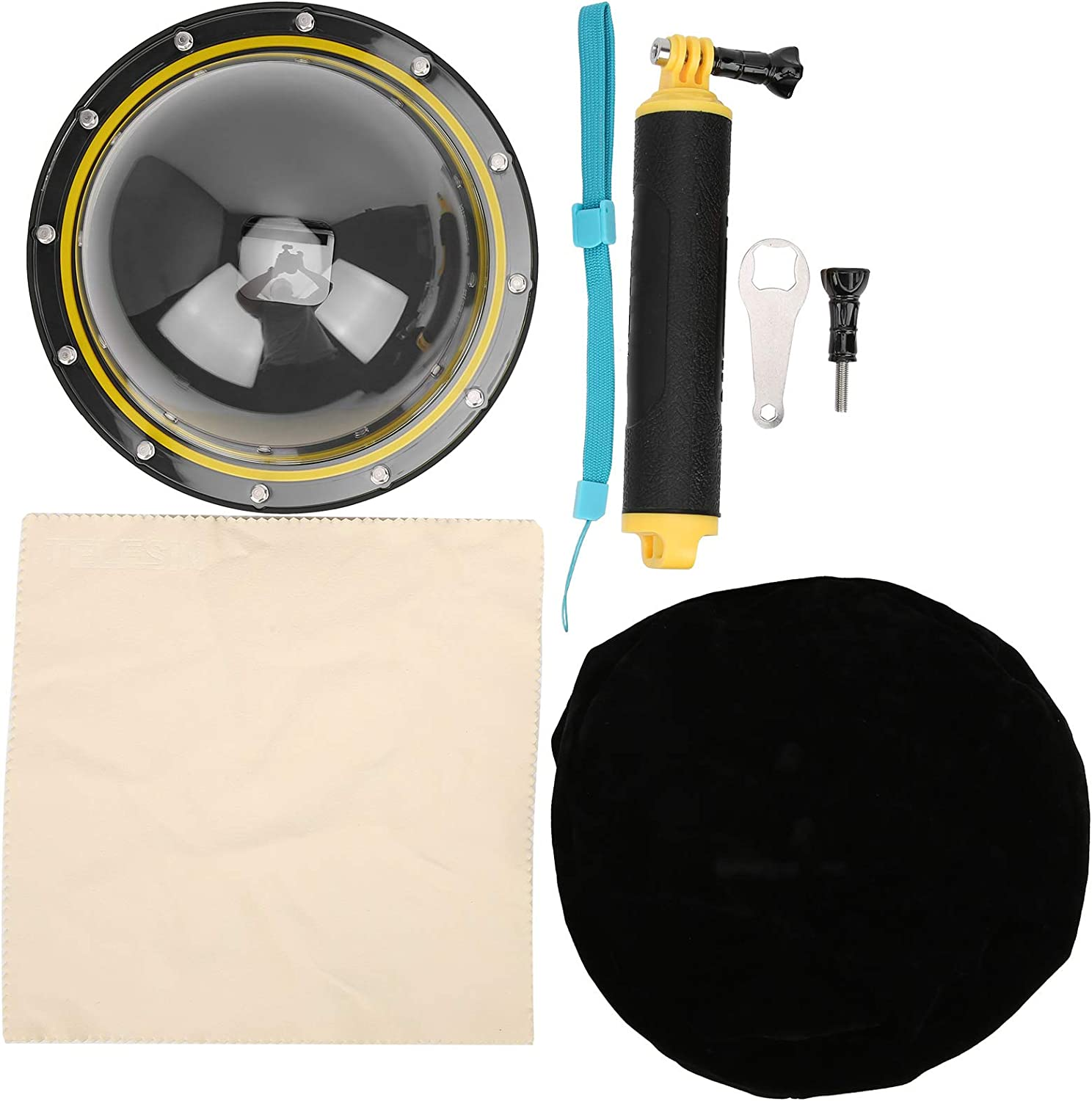 QYSZYG Waterproof Diving Cover Water Genuine Free Shipping Manufacturer OFFicial shop Surface 30M Lens