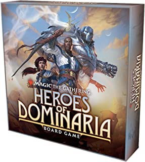 Wizkids Current Edition Magic The Gathering Heroes of Dominaria Board Game Standard Edition Board Game