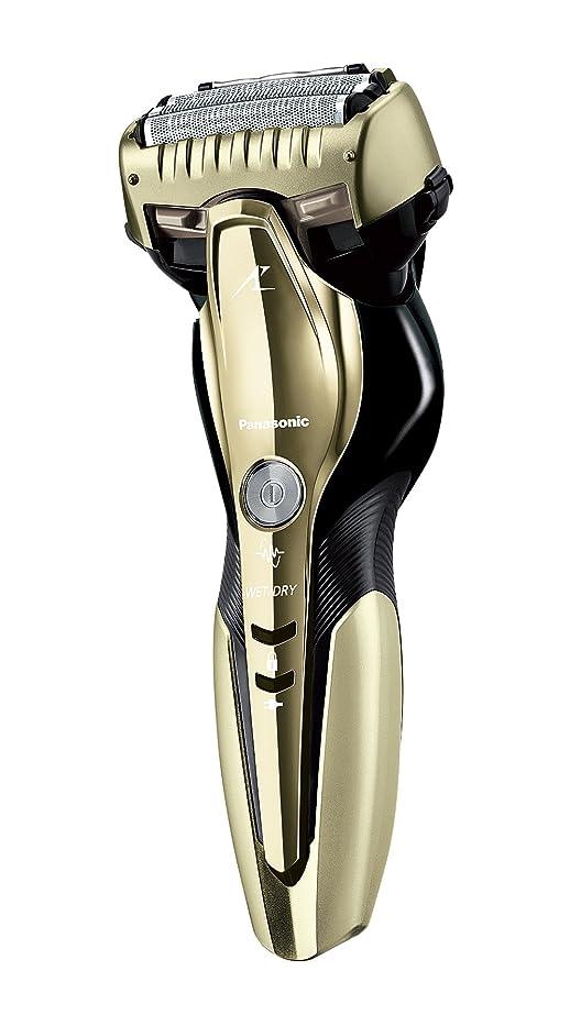 ヒロイック静けさ報酬のパナソニック ラムダッシュ メンズシェーバー 3枚刃 お風呂剃り可 ゴールド調 ES-CST8Q-N