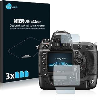 savvies Protector Pantalla Compatible con Nikon D3S (6 Unidades) Pelicula Ultra Transparente