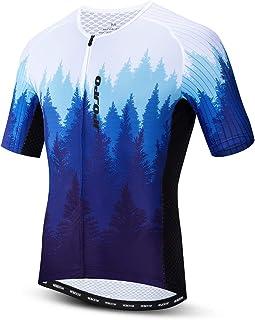 JPOJPO Cycling Jersey Men, Bicycle Short Sleeve, Road Shirt Bike Clothing