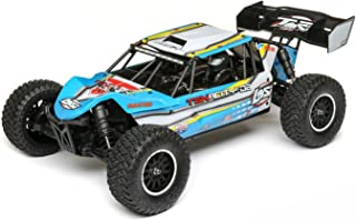 Losi 1/10 Tenacity-DB 4WD Desert Buggy RTR with AVC, Blue/Yellow, LOS03014T2