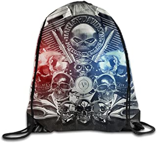 Harley Davidson Drawstring Backpacks/Bags